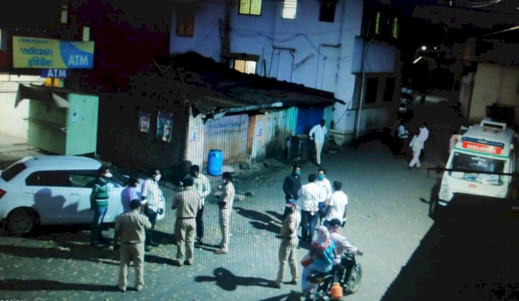 तांबवे गांव कोरंटाईन करण्याचा प्रशासनाचा विचार,मोठ्या प्रमाणात पोलीस बंदोबस्त